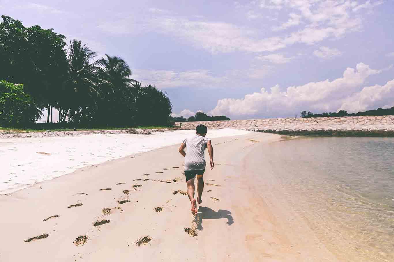 Strandworkout – Strandlauf